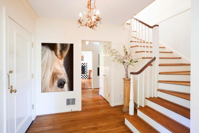 Hästtavla i hall