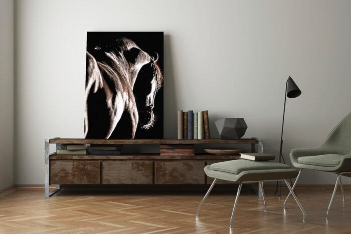 Abstrakt hästtavla